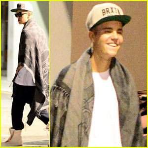 Justin Bieber Continues Making More Music During All-Night Studio Session!
