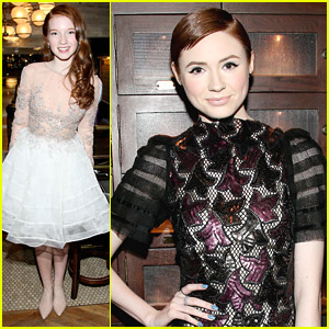Karen Gillan: 'Oculus' Screening with Annalise Basso!
