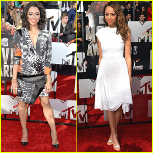 Kat Graham Goes Wild in Print for MTV Movie Awards 2014 with Amber Stevens