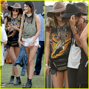 Kendall & Kylie Jenner Hang Out with Willow & Jaden Smith at Coachella!
