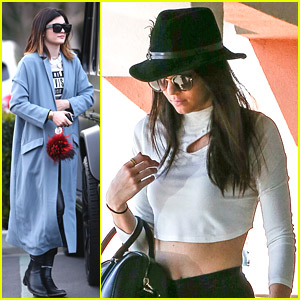 Kendall & Kylie Jenner: Separate Outings Before San Francisco PacSun Appearance