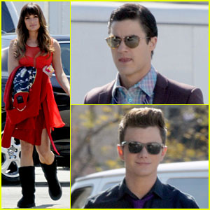 Lea Michele & 'Glee' Co-Stars Preview Life in the Big Apple