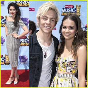 Maia Mitchell & Ross Lynch Reunite at RDMAs 2014!