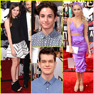 Maude Apatow, Pia Mia & More - MTV Movie Awards 2014