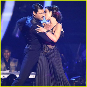 Meryl Davis & Maksim Chmerkovskiy's Perfect Tango From DWTS in Pics!