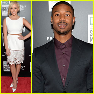 Michael B. Jordan & Nastia Liukin Celebrate 'We Could Be King' in NYC