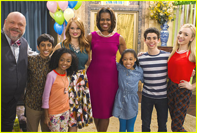 First Lady Michelle Obama Guest Stars on 'Jessie'!