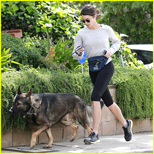 Nikki Reed & Enzo Get In Another Jog