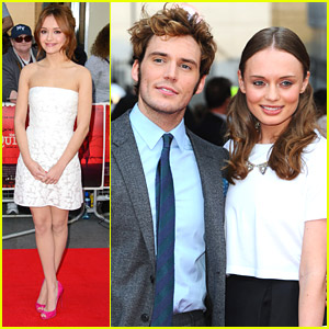 Olivia Cooke & Sam Claflin: 'The Quiet Ones' Premiere Pics!