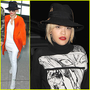 Hat Queen Rita Ora Previews Iggy Azalea Collaboration 'Black Widow'