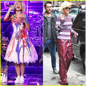 Rita Ora: Paint Party on 'The Tonight Show with Jimmy Fallon' - Watch Her Performance!
