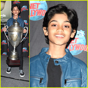 Rohan Chand Promotes 'Bad Words' at Planet Hollywood