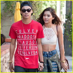 Roshon Fegan Dines with Girlfriend Camia-Marie Chaidez After 'Parenthood' Debut