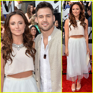 Ryan Guzman & Briana Evigan 'Step Up' at MTV Movie Awards 2014!