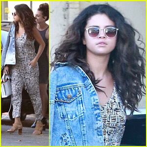 Selena Gomez Embraces Latina Hertage Lets Her Curly Hair Go Free