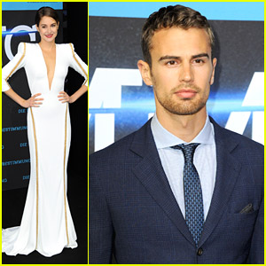 Shailene Woodley & Theo James Premiere 'Divergent' in Berlin