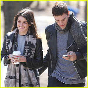 Shenae Grimes & Josh Beech: Back In Toronto For Easter