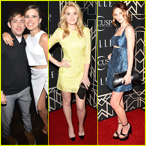 78violet & Sophia Bush: Elle's Women In Music Event with Kevin McHale