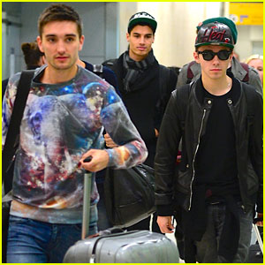 The Wanted Arrive in NYC for Farewell Tour