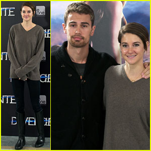 Theo James Admits He Purposely Hasn't Read 'Allegiant' Yet