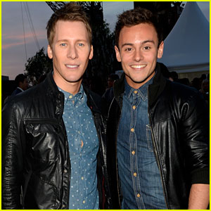Tom Daley & Dustin Lance Black Step Out as a Couple!