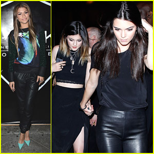 Zendaya: Christian Combs 16th Birthday Bash with Kendall & Kylie Jenner!