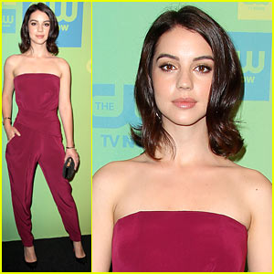 Adelaide Kane's Beauty Reigns Supreme at CW Upfront 2014!