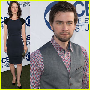 Adelaide Kane & Torrance Coombs 'Reign' Supreme at CBS Summer Soiree!