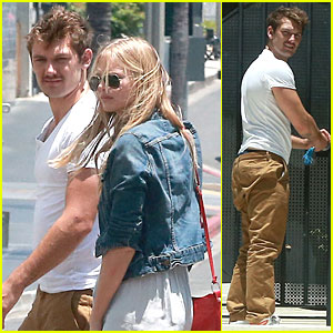 Alex Pettyfer & Girlfriend Marloes Horst Get Alone Time at His Beverly Hills Apartment!