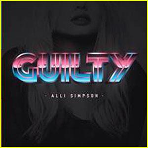 Alli Simpson Drops New Single 'Guilty' - Listen Now!