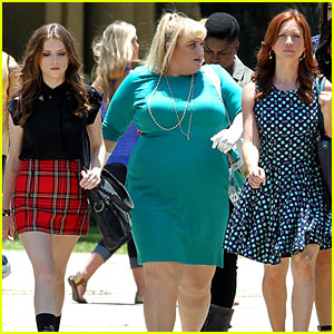 Anna Kendrick & Rebel Wilson Strut Their Stuff on 'Pitch Perfect 2' Set!
