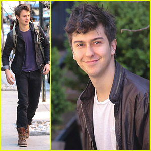 Ansel Elgort Was 'Crying of Laughter' From Co-Star Nat Wolff