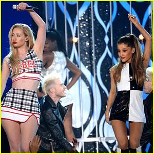 Ariana Grande & Iggy Azalea Perform 'Problem' at Billboard Music Awards 2014 (Video)