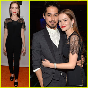 Avan Jogia Cozies Up to Girlfriend Zoey Deutch at 'Race to Erase MS' Event!
