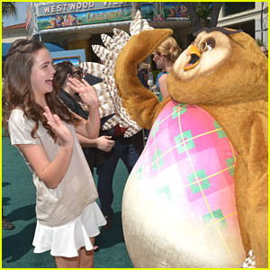 Bailee Madison: 'Legends of Oz' Premiere with Addison Riecke & Alex Newell