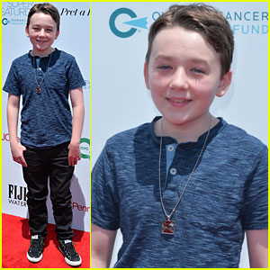 Benjamin Stockham Steps Out for a Good Cause in Santa Monica!