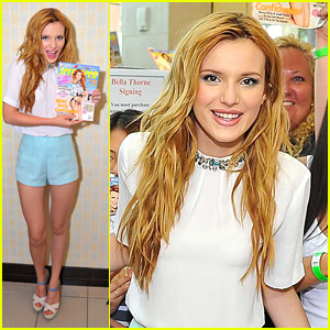 Bella Thorne Celebrates 'Seventeen' Cover in San Francisco!