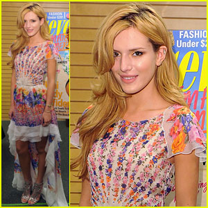 Bella Thorne Holds 'Seventeen' Signing Before Big 'Blended' Premiere