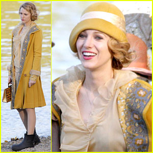 Blake Lively Becomes Burnaby Beach Girl for 'Age of Adaline'!