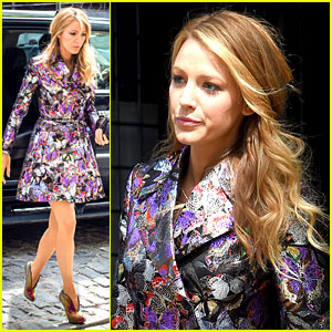Blake Lively Treated Herself to Ice Cream After the Met Gala!
