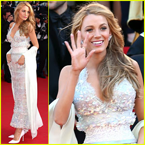 Blake Lively Goes Sheer in Chanel Couture at Cannes Film Festival 2014!