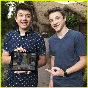 Mighty Med's Bradley Steven Perry & Jake Short Try Out New 'The 7D' App