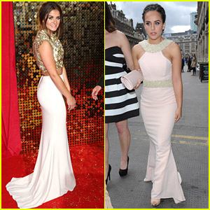 Coronation Street's Brooke Vincent & Georgia May Foote Keep The Carpet Hot at British Soap Awards 2014