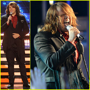 Caleb Johnson Rocks Out for 'American Idol' Finale Performances - Watch Now!