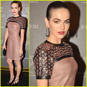 Camilla Belle Goes Dramatic for Gucci Museo 'Forever Now' Exhibit Opening