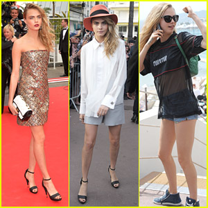 Cara Delevingne Is On 'The Search' In Cannes