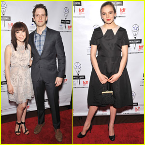 Carly Rae Jepsen & Joe Carroll: Cinderella & Prince Charming Go To The Lucille Lortel Awards