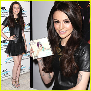Cher Lloyd Promotes 'Sorry I'm Late' in New York City