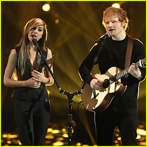 Christina Grimmie & Ed Sheeran Perform Together on 'The Voice' Finale - Watch Now!