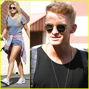 Cody Simpson Hits The Studio for 'Dancing With The Stars' Finals Practice